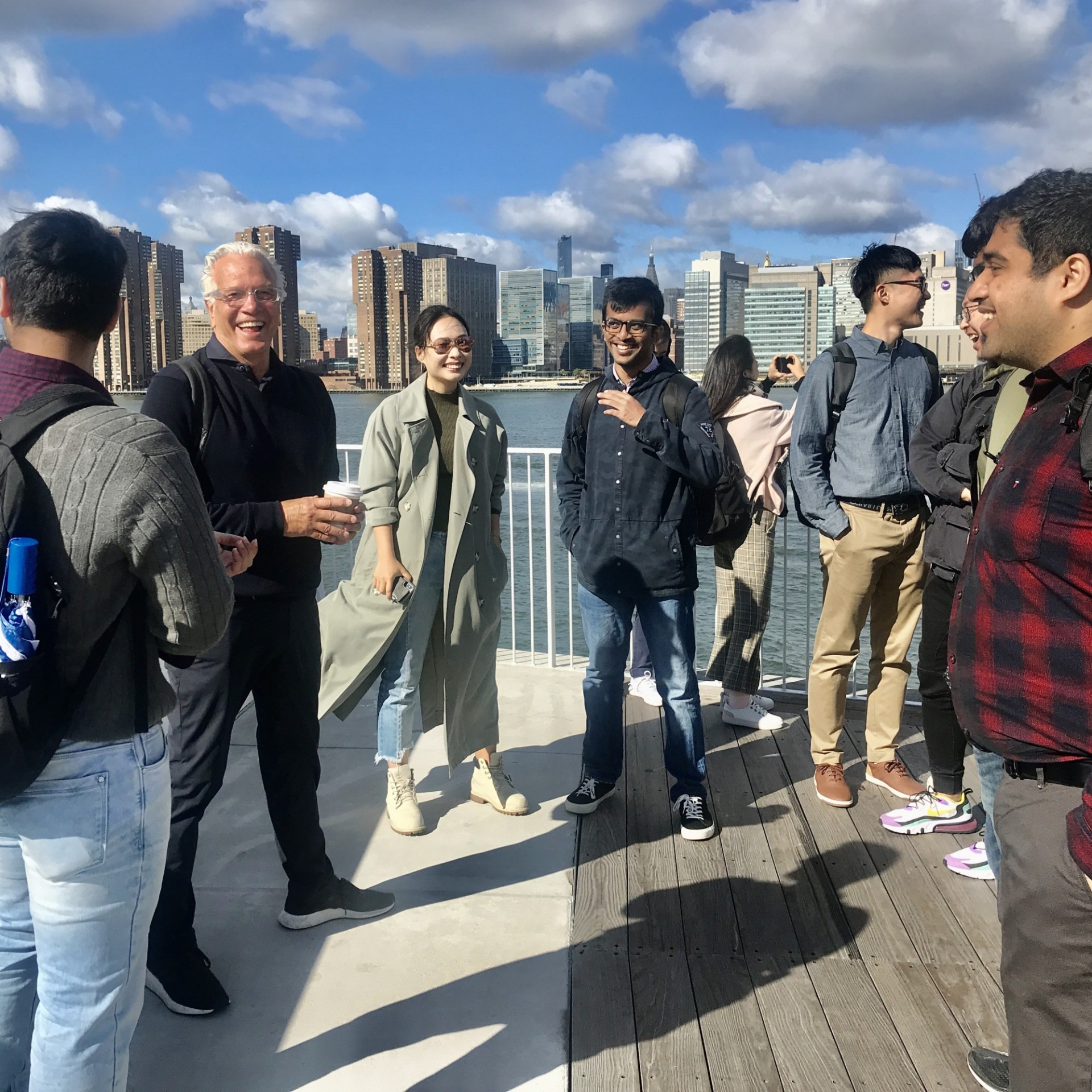NEW YORK CITY SITE VISITS: 2019-20